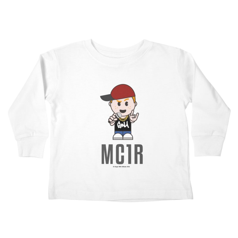 MC1R Kids Toddler Longsleeve T-Shirt by Ginger With Attitude's Artist Shop