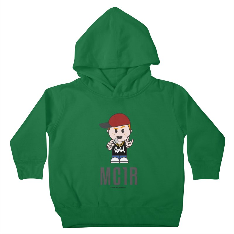 MC1R Kids Toddler Pullover Hoody by Ginger With Attitude's Artist Shop