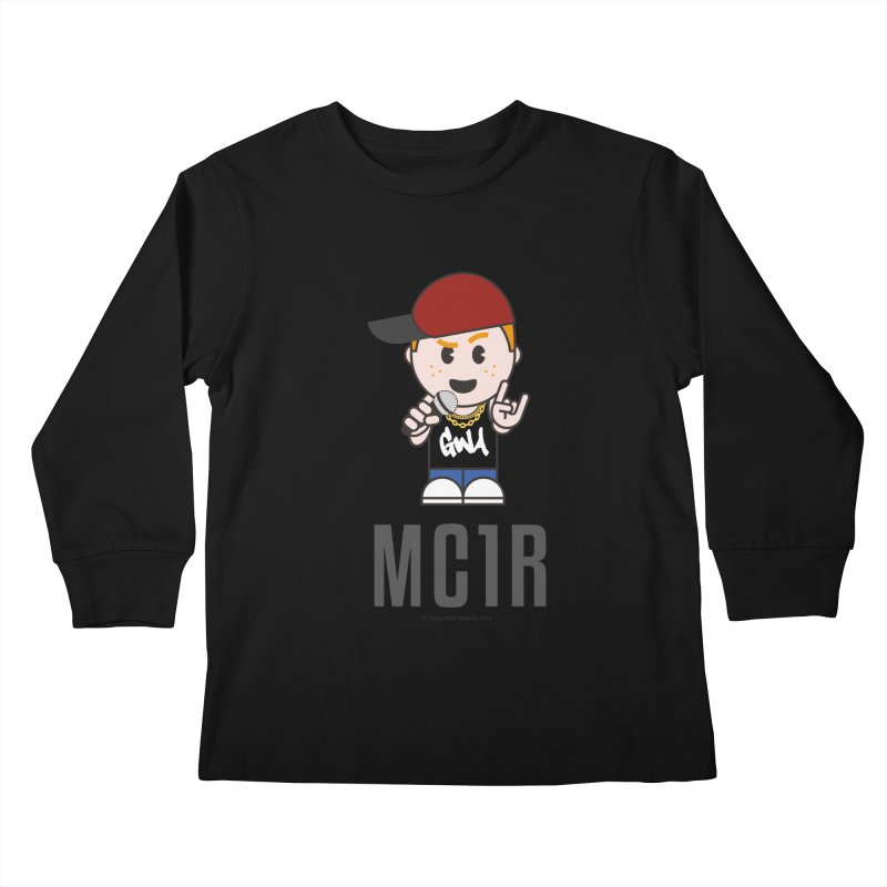 MC1R Kids Longsleeve T-Shirt by Ginger With Attitude's Artist Shop