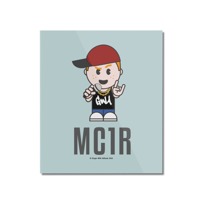 MC1R Home Mounted Acrylic Print by Ginger With Attitude's Artist Shop