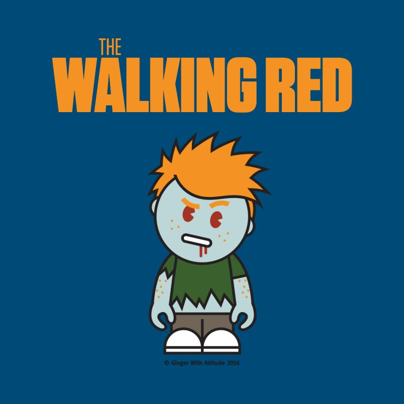 The Walking Red - Guy Accessories Face Mask by Ginger With Attitude's Artist Shop