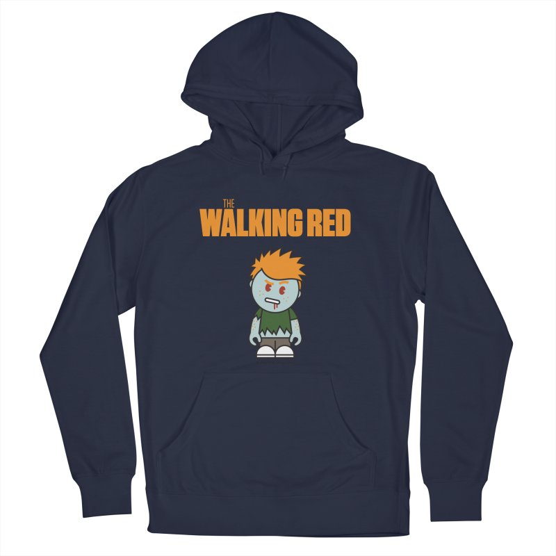 The Walking Red - Guy Men's Pullover Hoody by Ginger With Attitude's Artist Shop