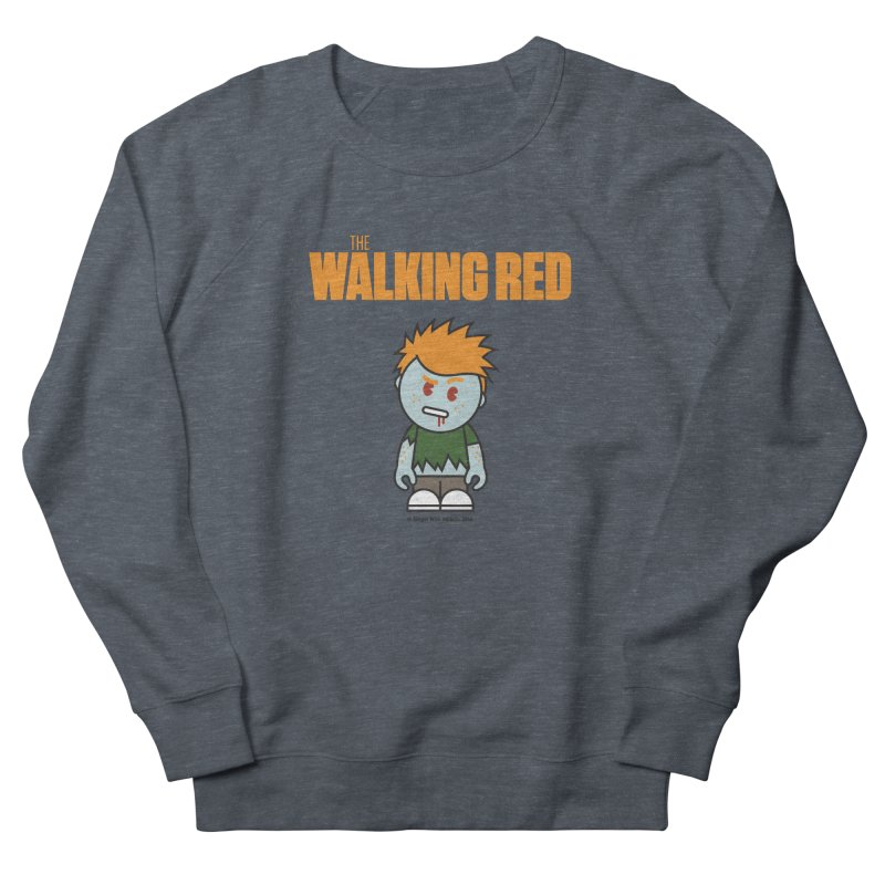 The Walking Red - Guy Women's Sweatshirt by Ginger With Attitude's Artist Shop
