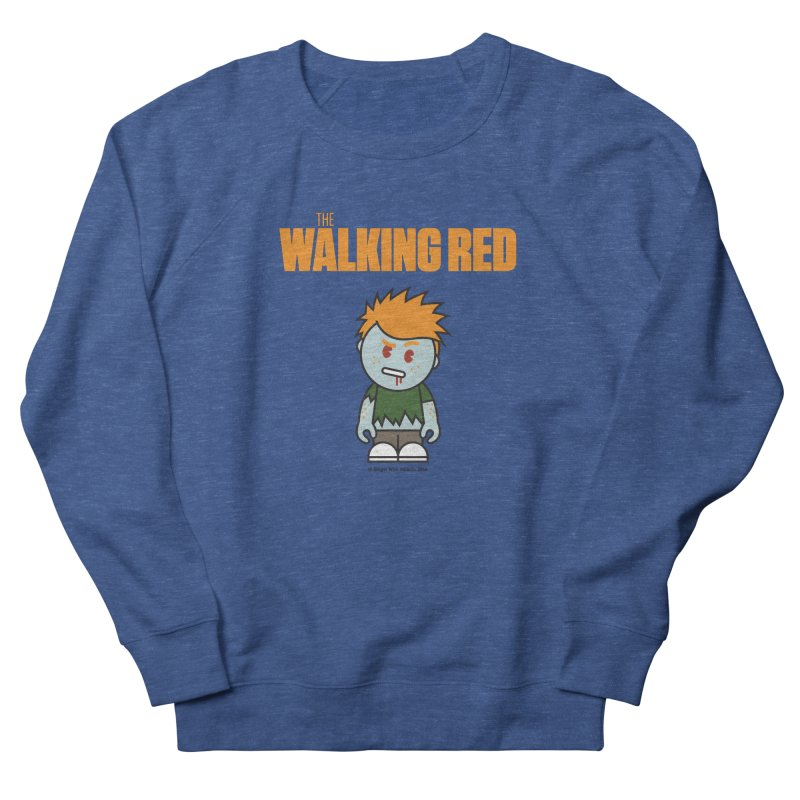 The Walking Red - Guy Men's Sweatshirt by Ginger With Attitude's Artist Shop