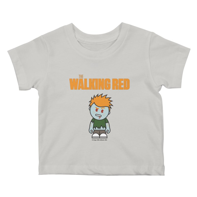The Walking Red - Guy Kids Baby T-Shirt by Ginger With Attitude's Artist Shop