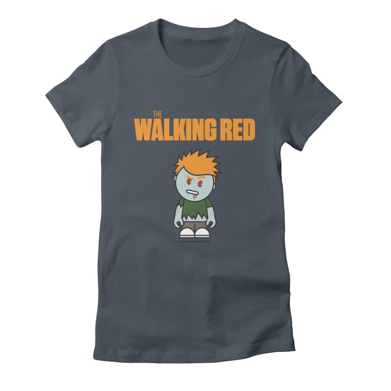The Walking Red - Guy Women's T-Shirt by Ginger With Attitude's Artist Shop