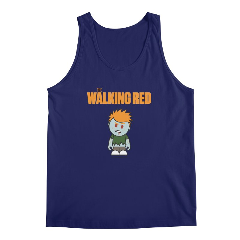 The Walking Red - Guy Men's Tank by Ginger With Attitude's Artist Shop