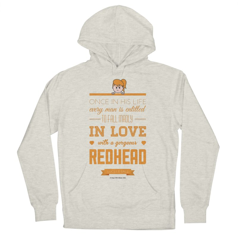 Once Men's Pullover Hoody by Ginger With Attitude's Artist Shop