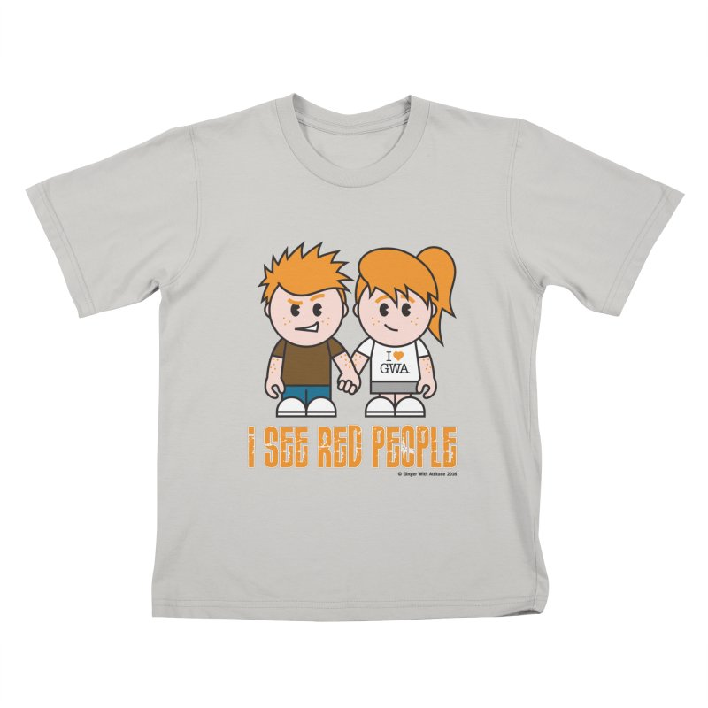 I See Red People Kids T-shirt by Ginger With Attitude's Artist Shop