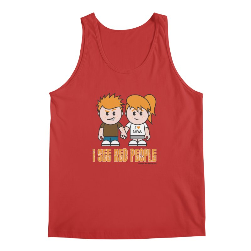 I See Red People Men's Regular Tank by Ginger With Attitude's Artist Shop