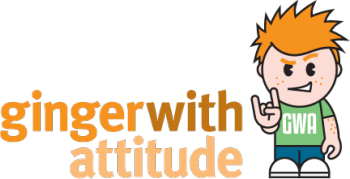 Ginger With Attitude's Artist Shop Logo