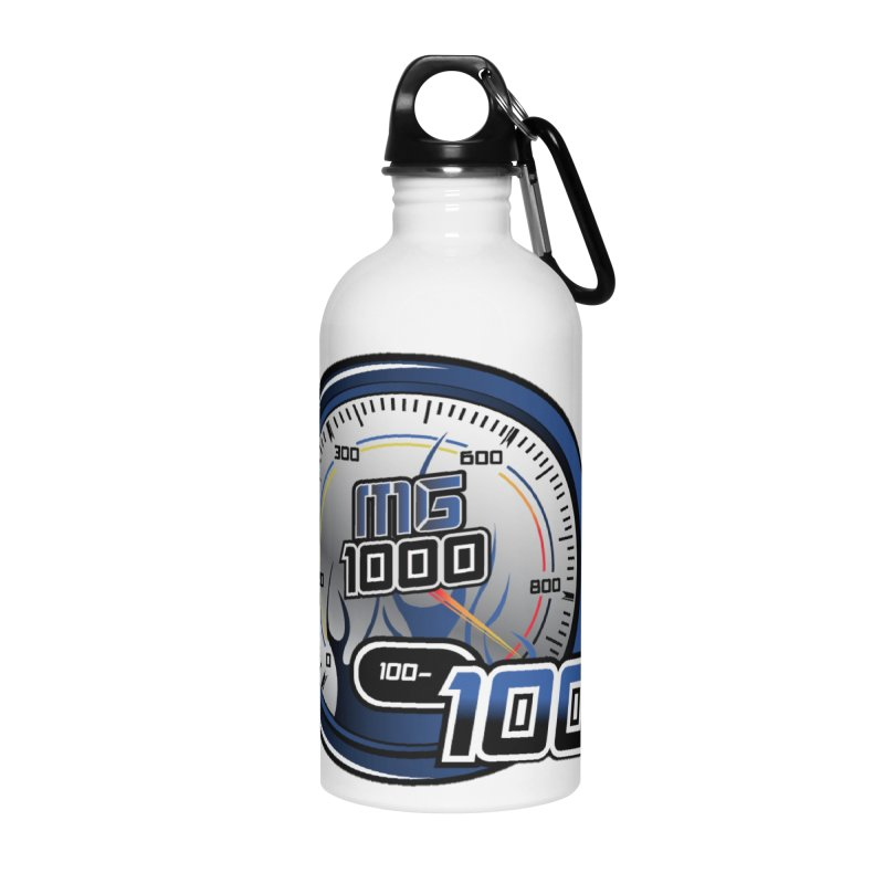Logo Accessories Water Bottle by Ginotopia