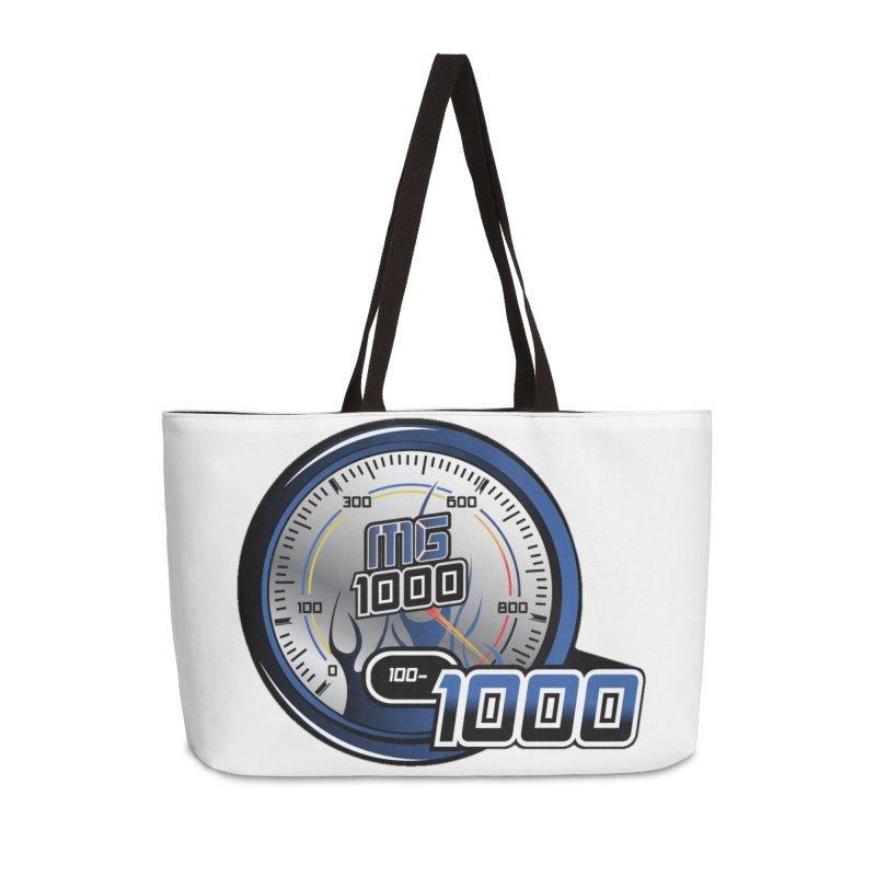 Logo Accessories Weekender Bag Bag by Ginotopia