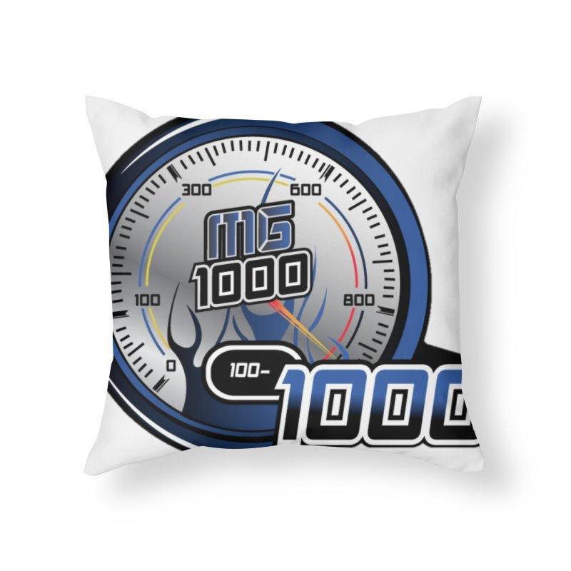 Logo Home Throw Pillow by Ginotopia
