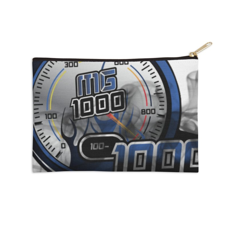 Logo Accessories Zip Pouch by Ginotopia