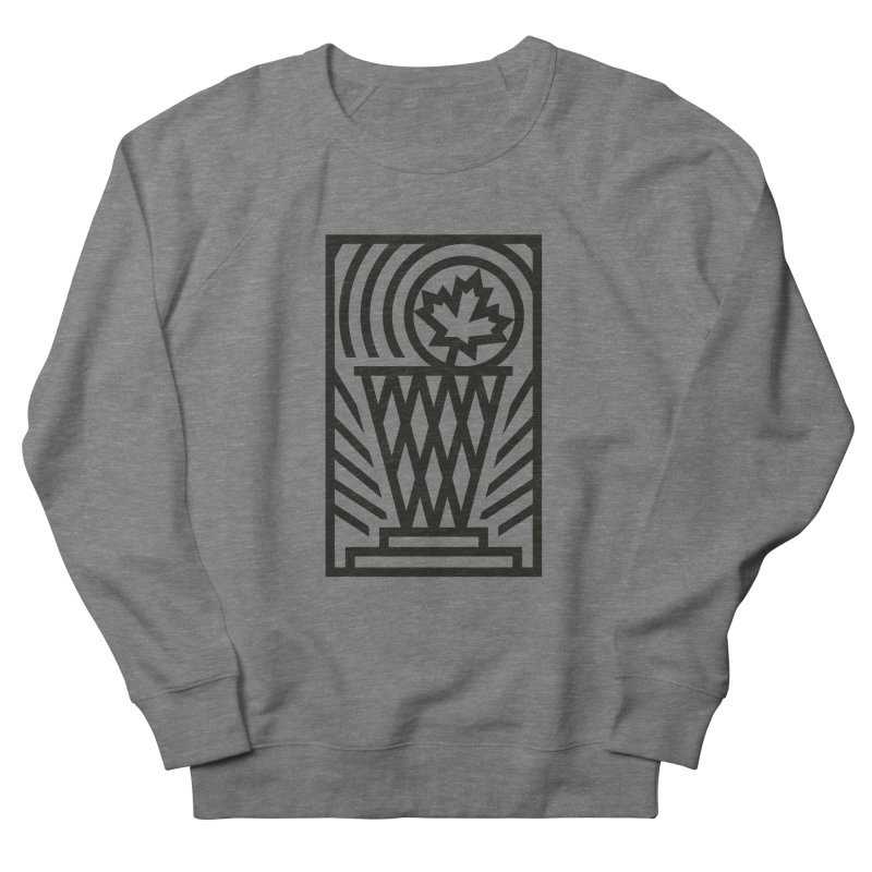 The Larry O'Canuck Men's French Terry Sweatshirt by Gintron