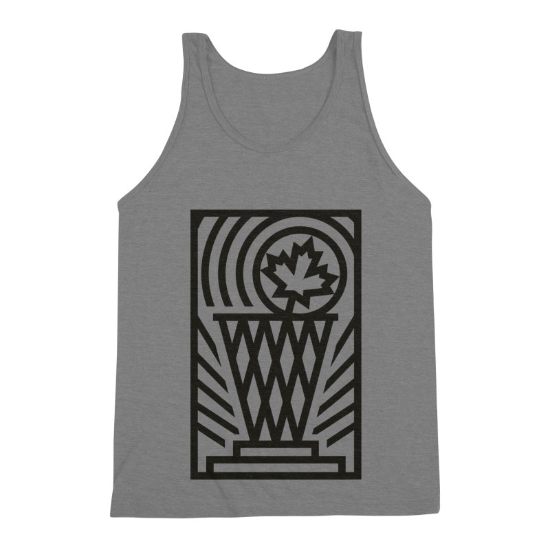 The Larry O'Canuck Men's Triblend Tank by Gintron