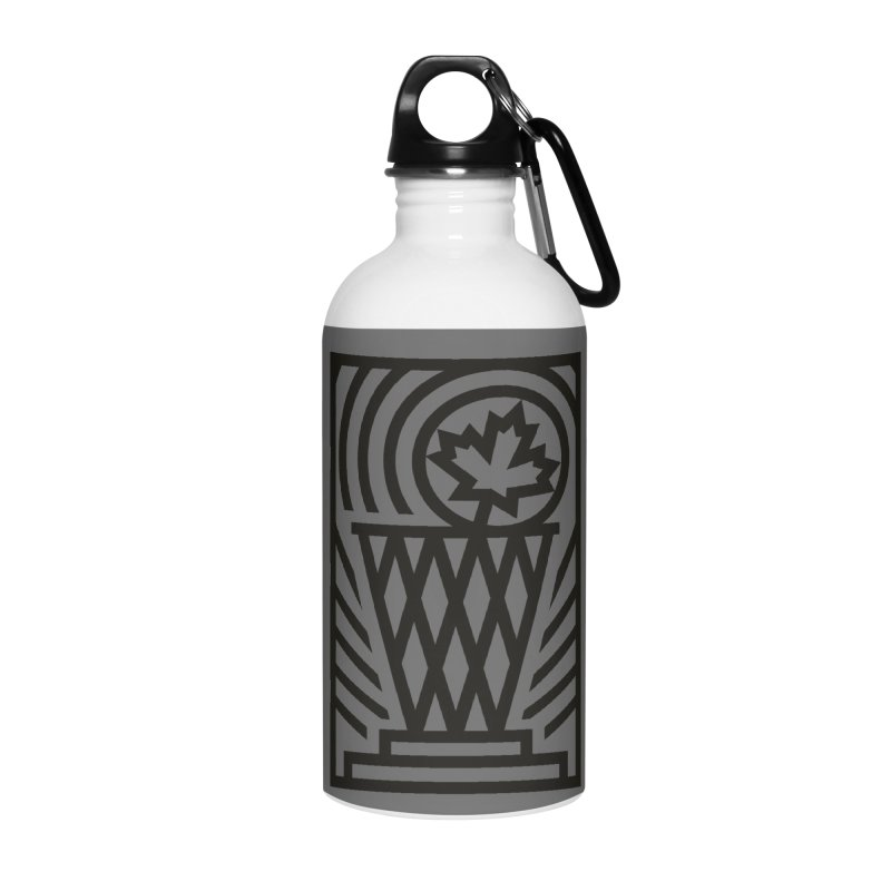 The Larry O'Canuck Accessories Water Bottle by Gintron