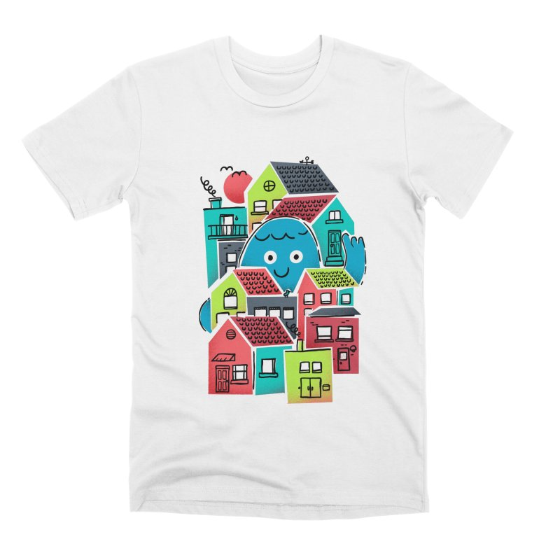 Hello Good Neighbour Men's Premium T-Shirt by Gintron