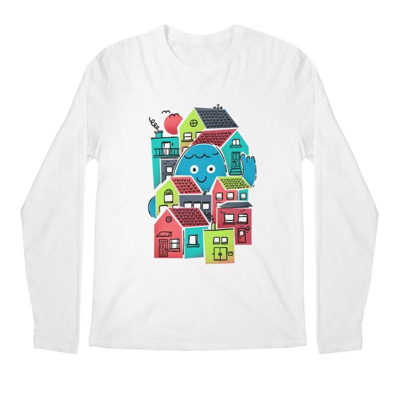 Hello Good Neighbour Men's Regular Longsleeve T-Shirt by Gintron
