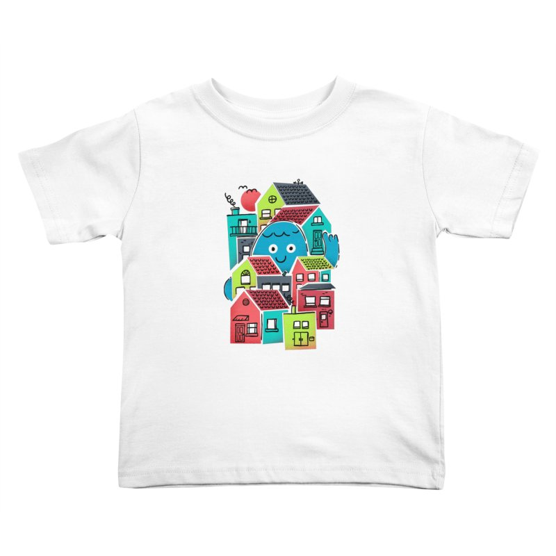 Hello Good Neighbour Kids Toddler T-Shirt by Gintron