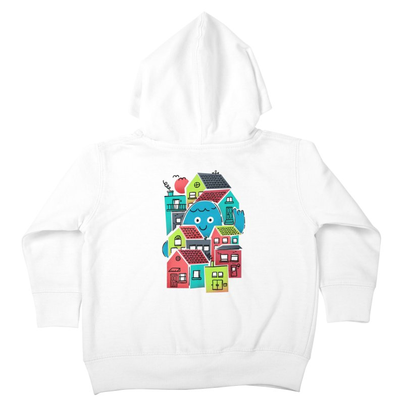 Hello Good Neighbour Kids Toddler Zip-Up Hoody by Gintron