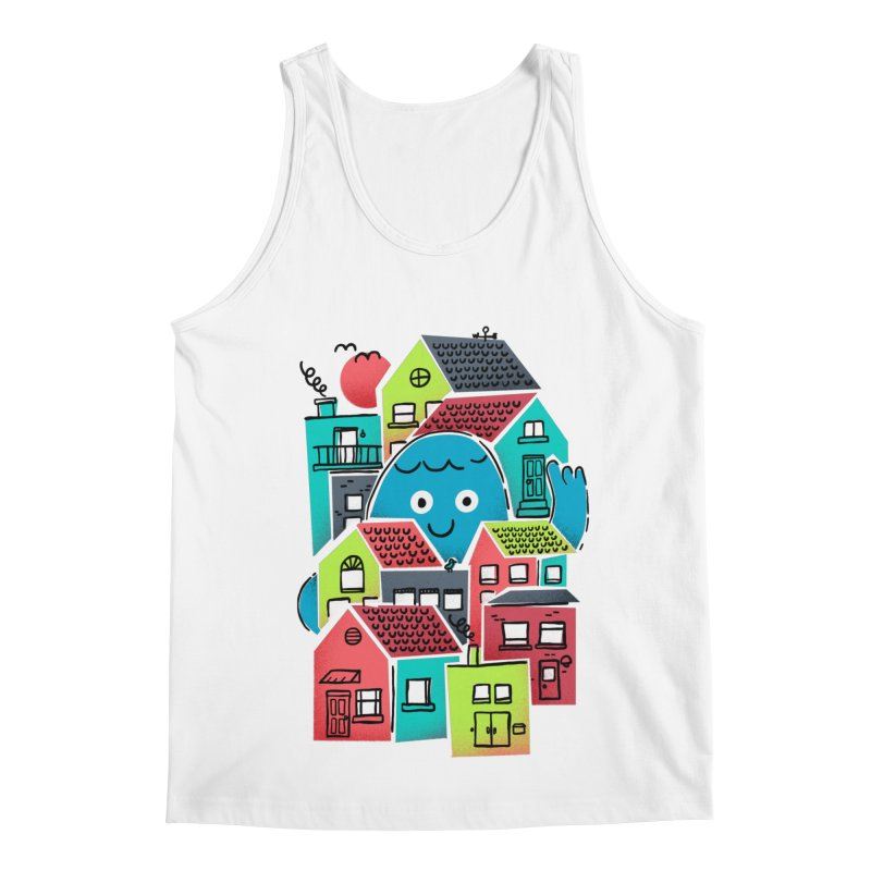 Hello Good Neighbour Men's Regular Tank by Gintron