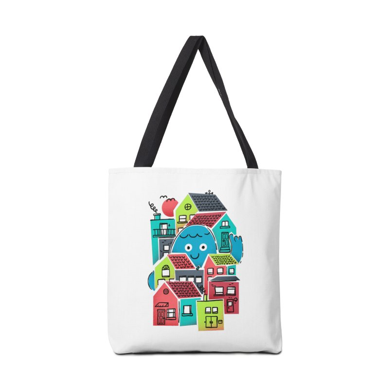 Hello Good Neighbour Accessories Tote Bag Bag by Gintron