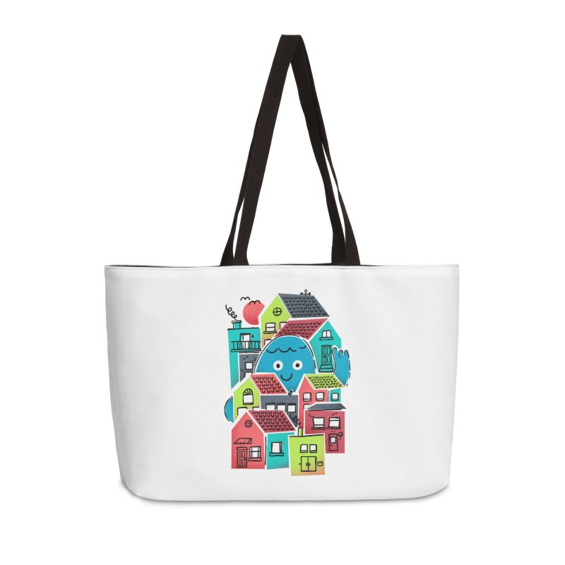 Hello Good Neighbour Accessories Weekender Bag Bag by Gintron