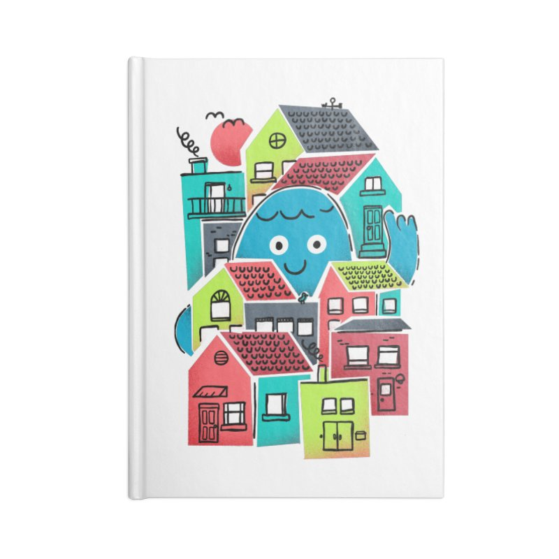 Hello Good Neighbour Accessories Notebook by Gintron