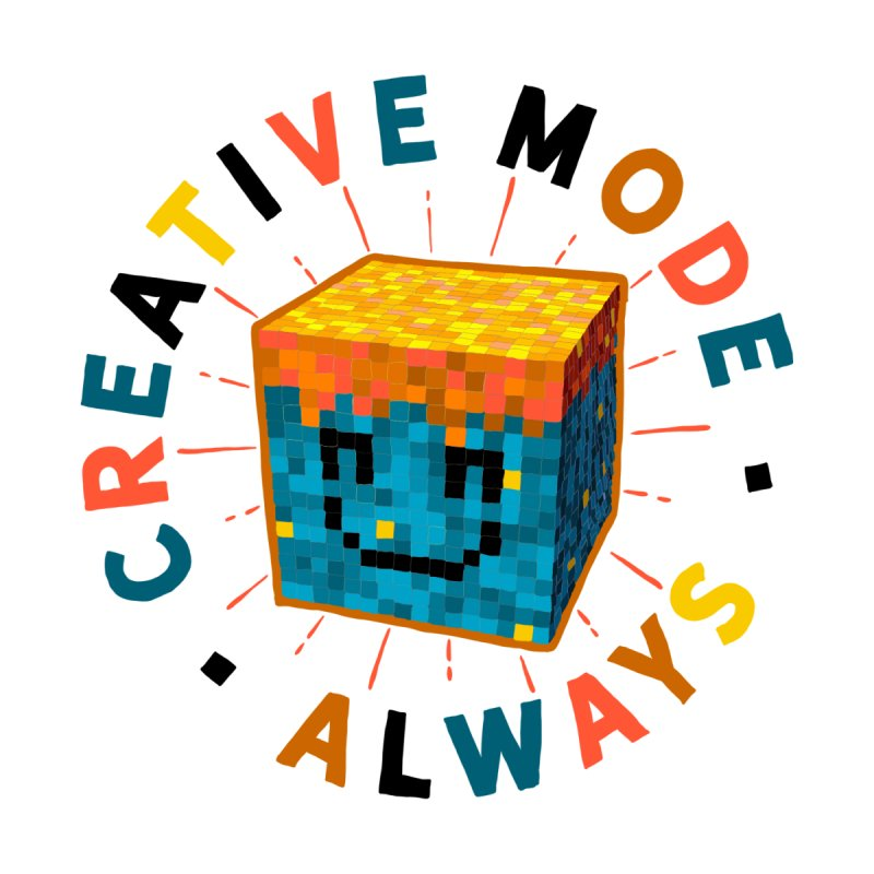 Liam's Creative Mode Accessories Notebook by Gintron