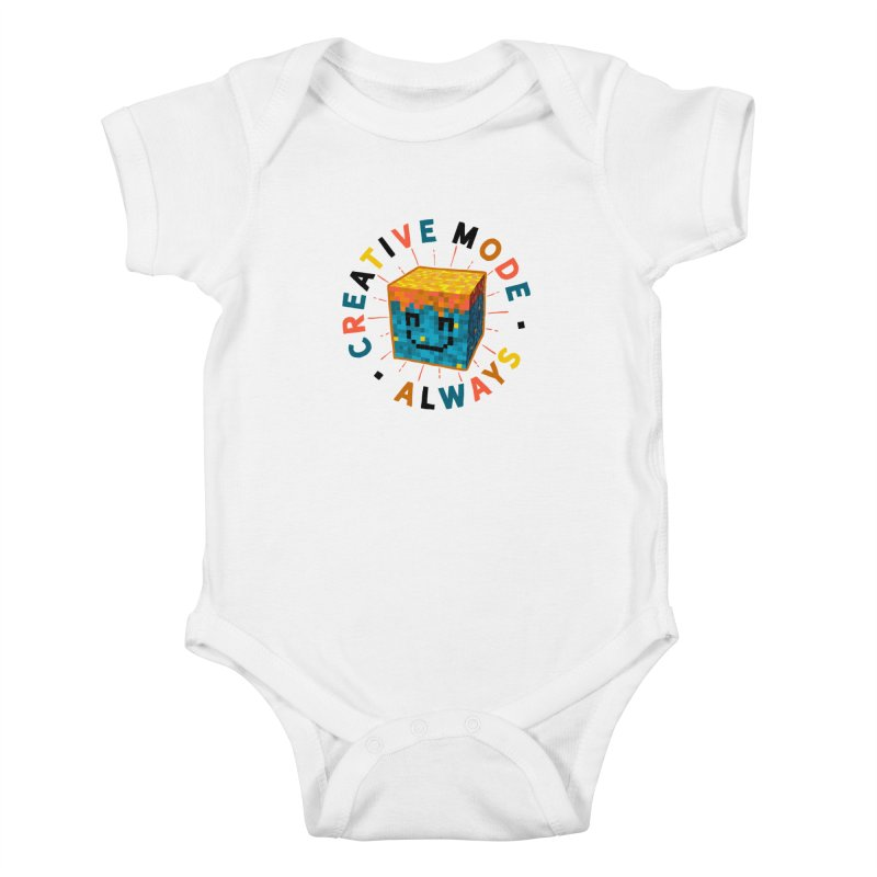 Liam's Creative Mode Kids Baby Bodysuit by Gintron
