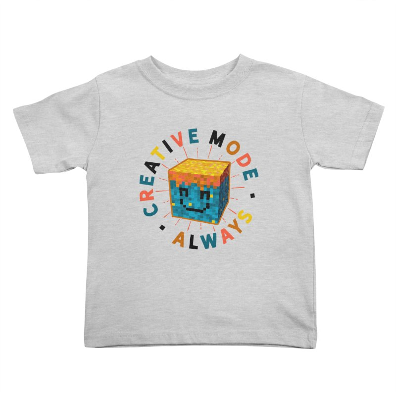 Liam's Creative Mode Kids Toddler T-Shirt by Gintron