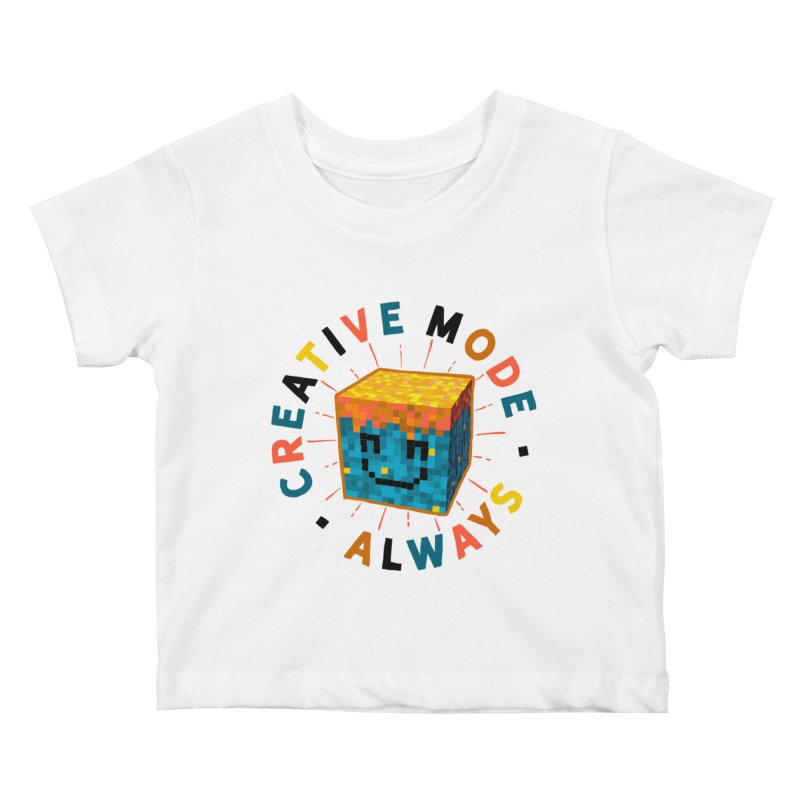 Liam's Creative Mode Kids Baby T-Shirt by Gintron
