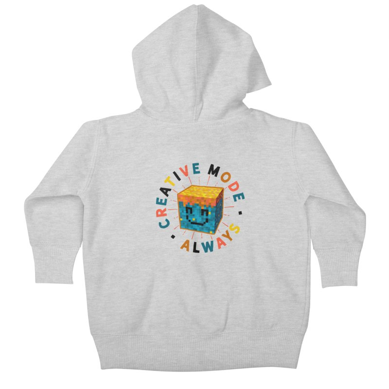 Liam's Creative Mode Kids Baby Zip-Up Hoody by Gintron