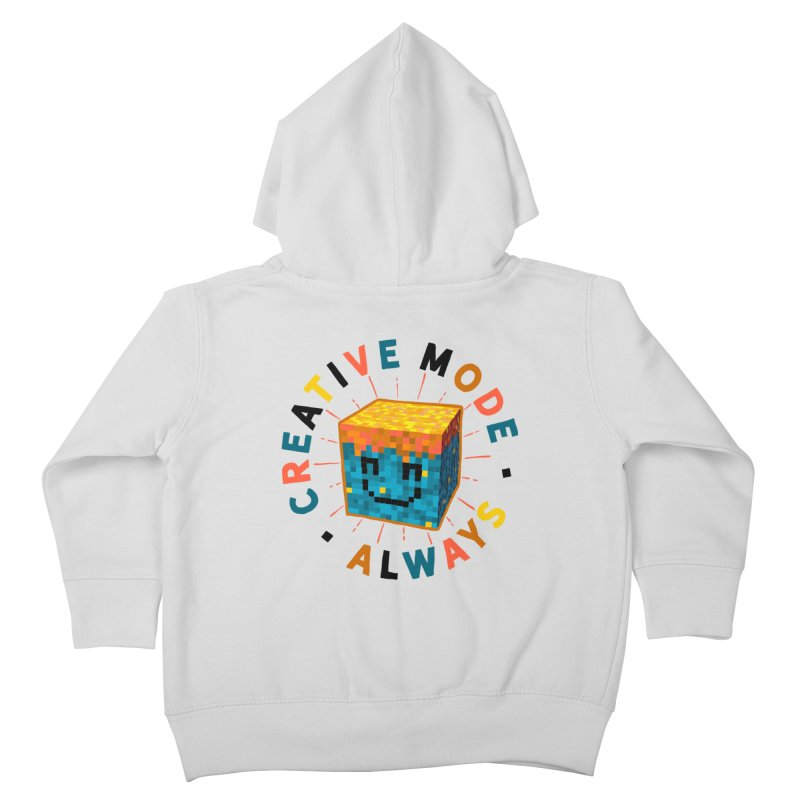 Liam's Creative Mode Kids Toddler Zip-Up Hoody by Gintron