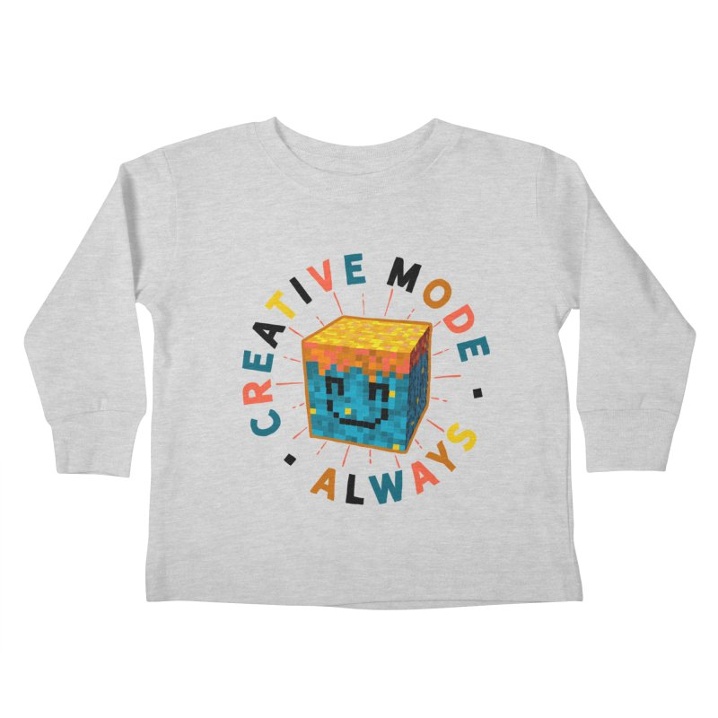 Liam's Creative Mode Kids Toddler Longsleeve T-Shirt by Gintron