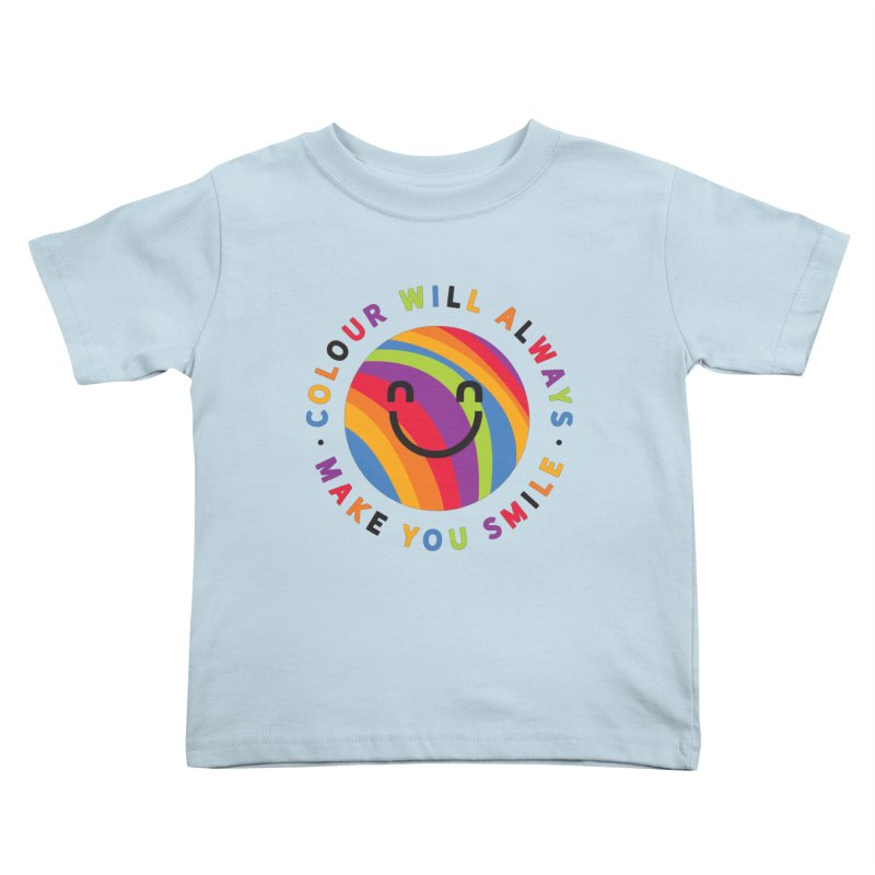 Ollie's Rainbow Kids Toddler T-Shirt by Gintron