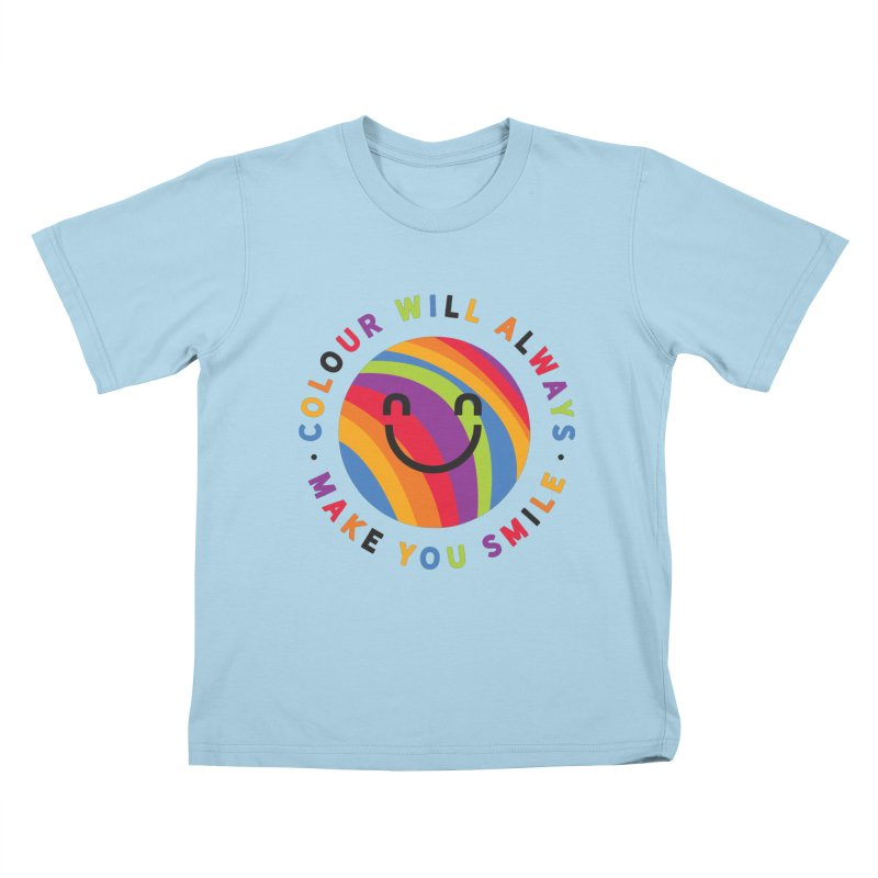Ollie's Rainbow Kids T-Shirt by Gintron