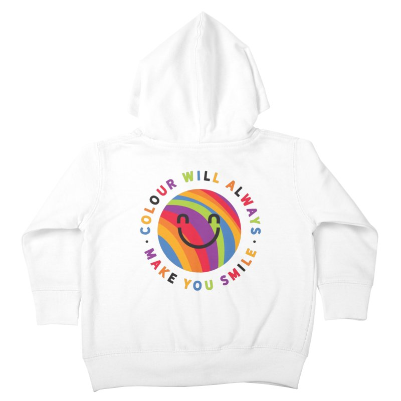 Ollie's Rainbow Kids Toddler Zip-Up Hoody by Gintron
