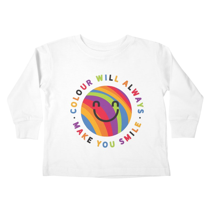 Ollie's Rainbow Kids Toddler Longsleeve T-Shirt by Gintron
