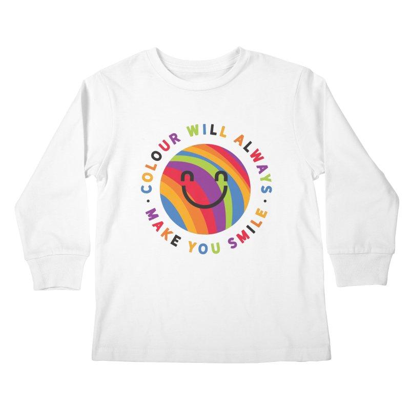 Ollie's Rainbow Kids Longsleeve T-Shirt by Gintron