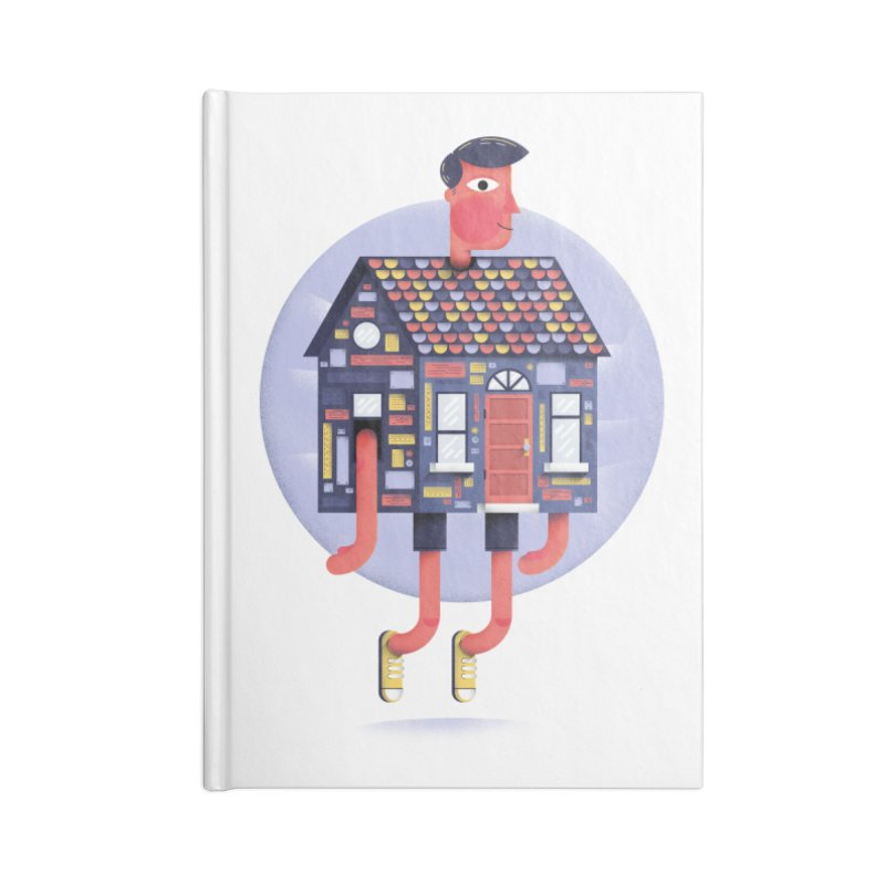 Home Body Accessories Notebook by Gintron