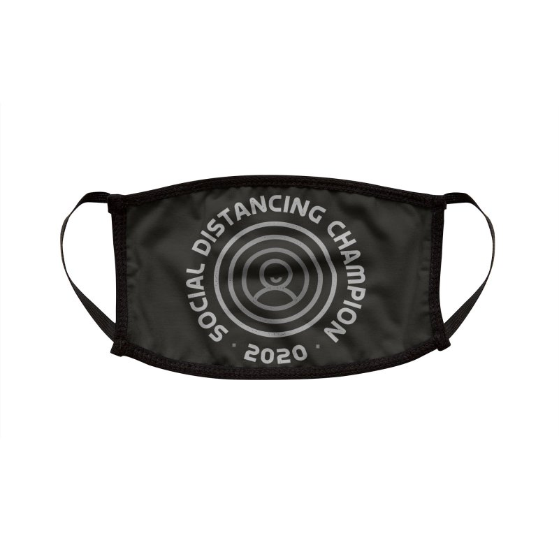 Social Distancing Champion 2020 Accessories Face Mask by Gintron