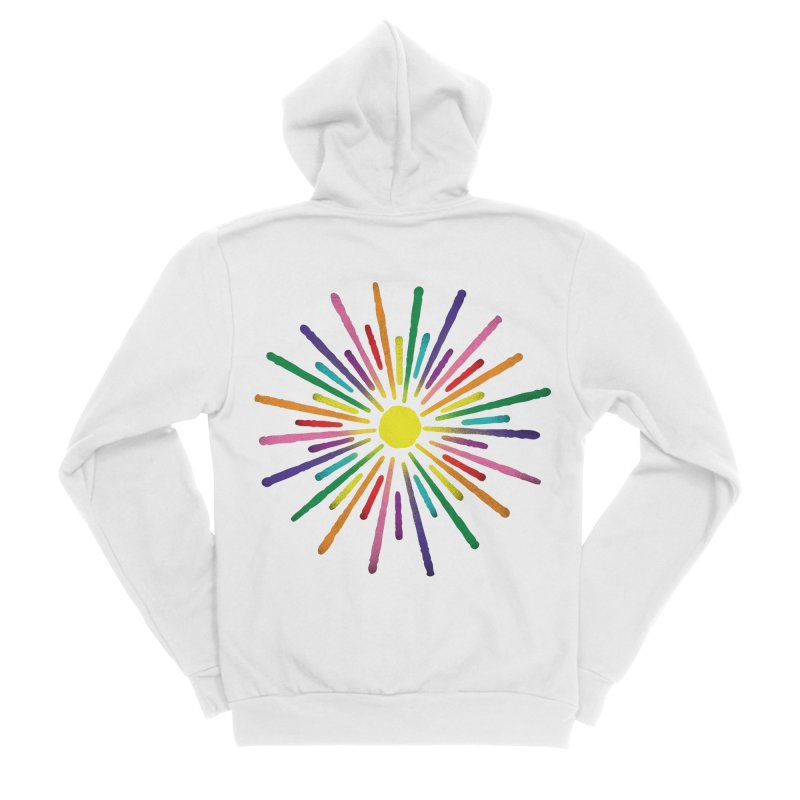 Equal Sunshine Women's Zip-Up Hoody by Gintron