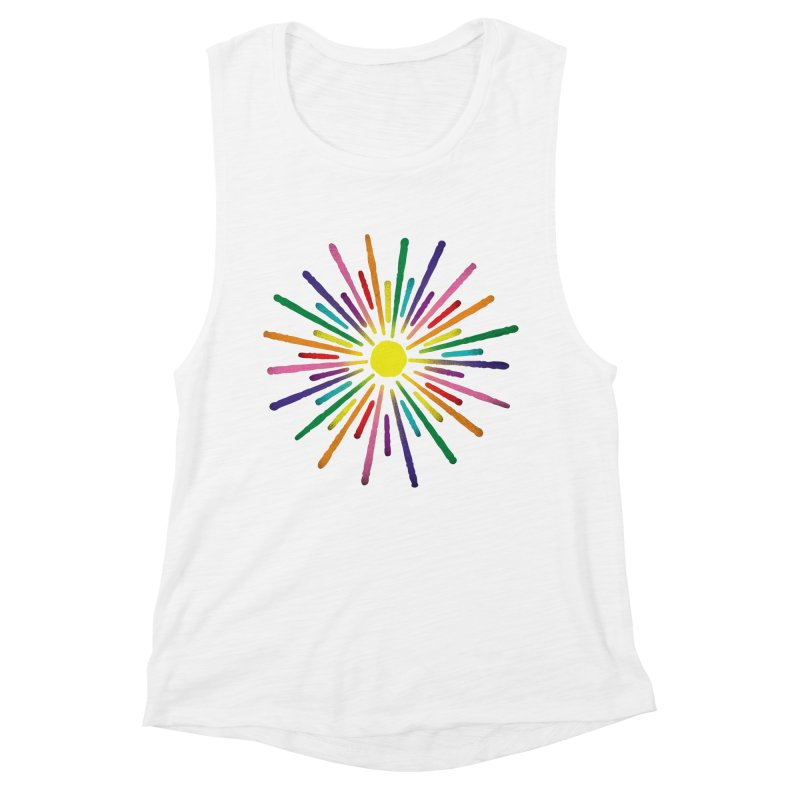 Equal Sunshine Women's Tank by Gintron