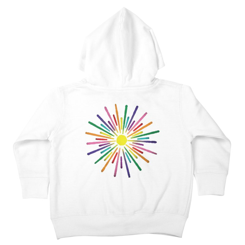 Equal Sunshine Kids Toddler Zip-Up Hoody by Gintron