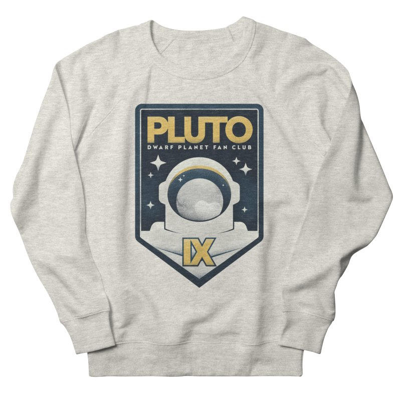 Pluto Fan Club Men's Sweatshirt by Gintron