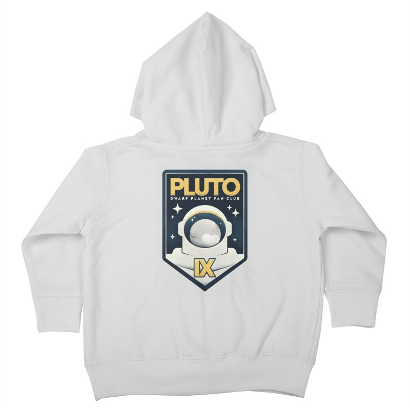 Pluto Fan Club Kids Toddler Zip-Up Hoody by Gintron