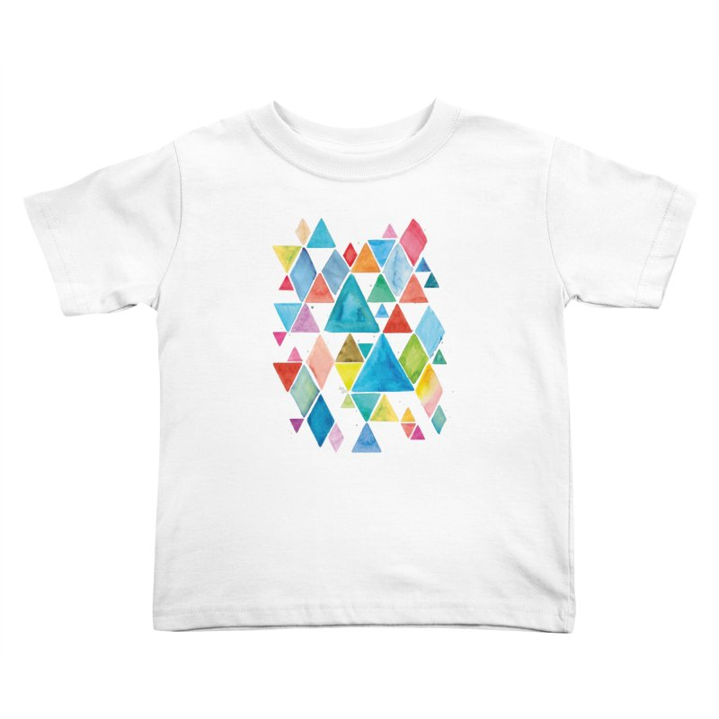 Mountain Ranges Kids Toddler T-Shirt by gintron's Artist Shop